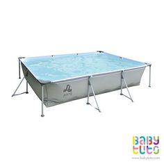 Piscina estructural rectangular grande con filtro, $139.990 (precio normal). Marca Kidscool: http://bbt.to/11vgq8m