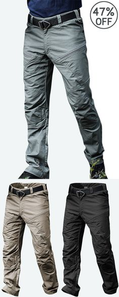 ffb738874d91 Mens Outdoor Muti-Pockets Pants Water-repellent Tactical Pants Military  Training Pants Military Training
