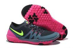 Nike Free Trainer 3.0 V3 Women's Training Shoes Navy/Black/Volt/Pink