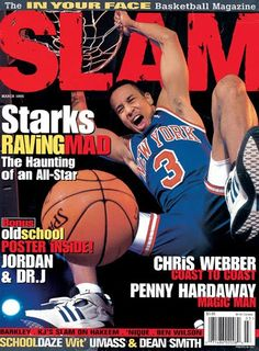 """""""Slam"""" magazine cover, March 1995"""