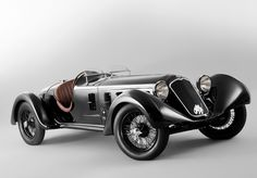 Non credo che esista nulla di paragonabile alle Alfa Romeo d'anteguerra archaictires: 1929 Alfa Romeo 6C 1750 SS