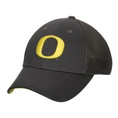 75a26b29 Oregon Ducks Nike Legacy 91 Mesh Back Swoosh Performance Flex Hat -  Anthracite