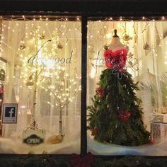 Christmas Window Ideas For Retail.Pinterest