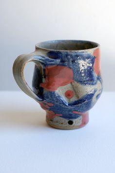 blue ash mug by ralphnuara on Etsy, $45.00