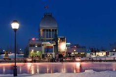 La patinoire des quais du Vieux Port de Montréal. http://coupsdecoeurpourlequebec.com/2010/02/mes-10-patinoires-coup-de-coeur/
