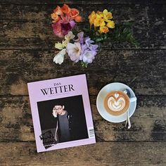 "@coffeetablemags's photo: ""Good morning Wednesday! Hello Das Wetter – Issue 8. This edition of the magazine for text and music contains stories and interviews with Yung Hurn, Stefanie Sargnagel, Jochen Distelmeyer, Get Well Soon and many more. Now available in our store! — #daswettermagazin #wetteristimmer #coffeetablemags Get your copy here or at Public Coffee Roasters: www.coffeetablemags.de/products/das-wetter-nummer-8"""
