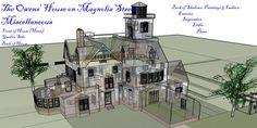 practical magic plans blueprints owens floor plan simple drawing layouts