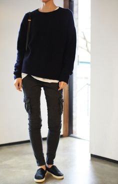Tomboy style. | via Death by Elocution