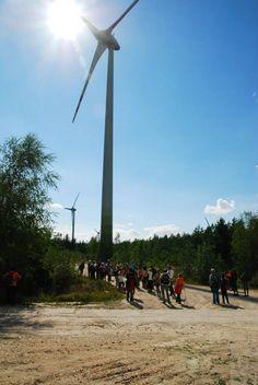 elektrownia wiatrowa na szczycie   #Łódzkie #voyage #Polska #podróże