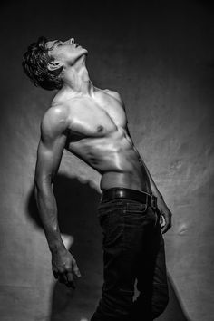 Super fit model Valentyn Korolkov at Ideal People Models builds up his portfolio with a fresh new series by photographer extraordinaire Santy Calalay. Styled by Chris Lee and grooming by Zaza Rodriguez.