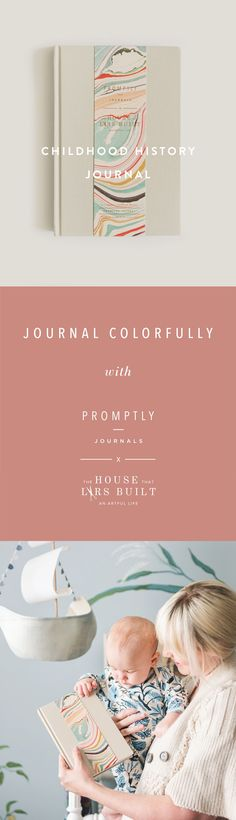 A prompted journal to help you keep track of all of life's most important moments. This journal will take you through Pregnancy to 18 years old with your little one. Family Comes First, Family Love, Journal Prompts, Journals, Memory Books, Making Memories, New Moms, Pregnancy, Childhood