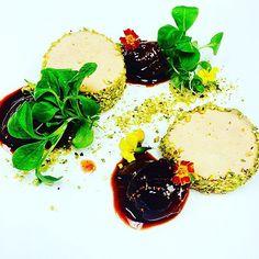 Pistachio encrusted foie gras torchon black mission fig and @minus8vinegar compote and brioche toast #foie #foiegras #torchon #pistachio #figs  #thestaffcanteen #michelin #truecooks #expertfoods  #beautifulcuisines #theartofplating #wildchefs #nyc #chef #cheflife #chefsroll #dontshootthechef #chefstalk #ChefsOfInstagram #food #foodie #foodgasm #foodporn #instachef #foodstarz #truecooks #FOURmagazine #gastroart #gastronogram #zagat #yummy by chefrylo88