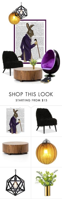 """purple coat"" by katrisha-art ❤ liked on Polyvore featuring interior, interiors, interior design, home, home decor, interior decorating, Oggetti, LSA International, Golden Goose and topset"