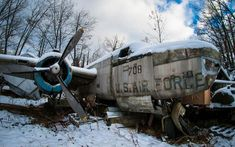He Stumbled Across This Place And Luckily Someone Was Outside | Pictures Of Abandoned War Airplanes