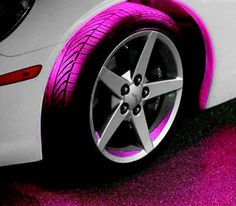 LED light that makes your wheels glow whatever color
