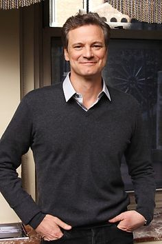 Colin Firth perhaps not as formally dressed as some but none the less - groomed.