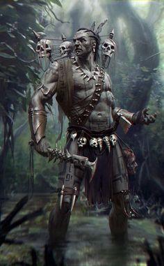 Hombre del bosque: