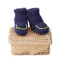 Hand crocheted from Peru, 3-6 months, 100% cotton, hand wash. $25