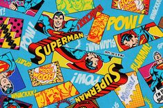 Check out this item in my Etsy shop https://www.etsy.com/listing/543921959/superman-character-fabric-made-in-japan Superman Characters