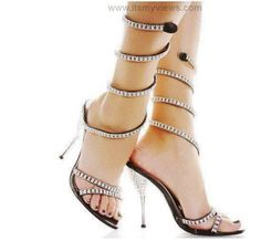 most extravagant wedding party   ... shoes for Party and wedding functions New High Heels Shoes collection