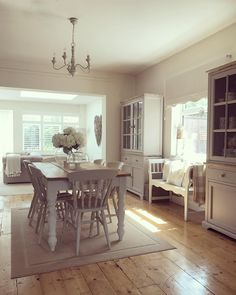 Country Kitchen, New Kitchen, Cottage Shabby Chic, Cottage Interiors, Living Room Grey, Home Furniture, Decoration, Sweet Home, New Homes