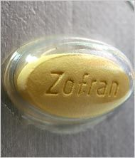 Zofran, for morning sickness. I want to write a sonnet to Zofran.