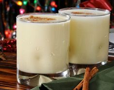 I enjoy coconut milk already.and LOVE eggnog.excited to have dairy free eggnog now! Fun Drinks, Yummy Drinks, Yummy Food, Beverages, Holiday Treats, Holiday Recipes, Holiday Parties, Holiday Cocktails, Ponche Navideno
