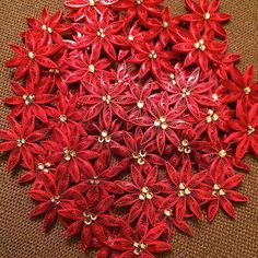 Quilled Snowflake Pattern and Quilled Christmas Ornaments