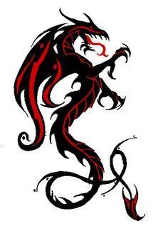 Необычнный дракон
