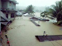 One view of the aftermath from the flash floods in Manado. Scene setter. Photo credit: Flood List