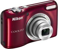 """Nikon Coolpix L27 - Cámara compacta de 16.4 Mp (pantalla de 2.7"""", zoom óptico 5x), rojo - Incluye tarjeta de memoria de 4GB y funda [importado] B00B7YHLIC - http://www.comprartabletas.es/nikon-coolpix-l27-camara-compacta-de-16-4-mp-pantalla-de-2-7-zoom-optico-5x-rojo-incluye-tarjeta-de-memoria-de-4gb-y-funda-importado-b00b7yhlic.html"""