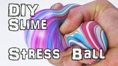 DIY Stress Balls. Make Oobleck Slime from cornflour or cornstarch, and use…
