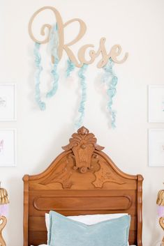 Toddler Mermaid Bedroom Reveal - The Miami Rose Miami, Mermaid Bedroom, Big Girl Rooms, Girls Bedroom, Bedrooms, Cribs, Toddler Girl, Oui, Home Decor