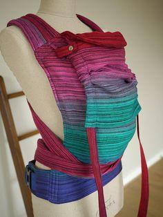 Matrix Kaimu Cairis Carrier - organic combed cotton, hemp and organic linen. Sewn in Scotland by Oscha Slings.