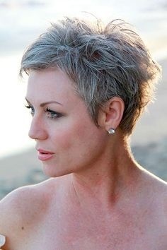 Pixie Cut Over 50