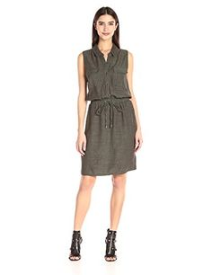 Splendid Women's Sleeveless Shirtdress, Military Olive, X... https://smile.amazon.com/dp/B0195UEP4W/ref=cm_sw_r_pi_dp_mCQzxb5XJZ74V
