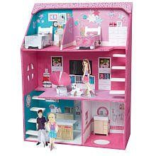 Totally Me! Make Your Own Dollhouse by Toys R Us. $21.97. The Totally Me! Make Your Own Dollhouse comes with:22 wooden pieces44 interior stickers x (1 x A3 sticker sheet)4 x card house mates, 7 x card furniture pieces (made from 1 x A3 card sheet, CMYK diecut score lines)1 x Instruction sheet (A4 double sided)10 x paint pots (5ml each)2 x glue pots (5ml each)1 x paint brush1 x tube of silver glitter glue (5ml)How to make the house:Make: Using your brush, glue the pieces...