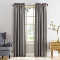 Sun Zero Kylee Energy Efficient Rod Pocket Curtain Panel Walmart Com In 2020 Rod Pocket Curtain Panels Curtains Panel Curtains