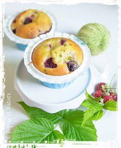 Muffins framboises et citron vert  © Popote et Nature