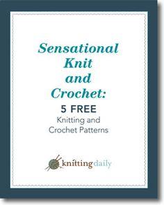 Free Knitting and Crochet Patterns eBook
