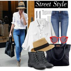How to style white blouse