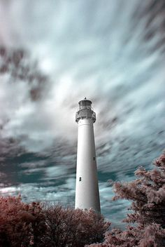 Lighthouse in Infrared - Cape May, NJ