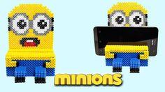Minion Portacellulare con Hama Beads /Phone Stand Perler Beads! Soporte Phone Minion ! Se il video ti è piaciuto metti un LIKE! ♥Guarda il video qui: https://www.youtube.com/watch?v=UXB3FxOH2G4