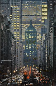 Madison Avenue, NYC, 1965