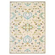 "9'8"" x 12'7"" $710  Anchor your living room seating group or define space in the den with this loomed art silk rug, featuring a botanical-inspired motif for timeless appeal."