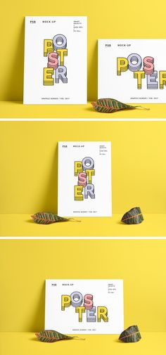 The freebie of the day is a high-quality mock-up that will help you showcase your poster designs, photos or artwork...