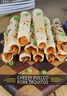 Impress your guests with a meal they won't soon forget by starting the dinner off with these Cheesy Pulled Pork Taquitos—a delicious appetizer they'll love before sitting down to one of our oven-ready pizzas.
