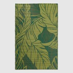 Featuring our exclusive tropical leaves design in lush shades of green, our reversible woven floor mat adds a burst of verdant color to your indoor or outdoor Green Outdoor Rug, Indoor Outdoor Rugs, Outdoor Area Rugs, Outdoor Decor, Outdoor Living, Outdoor Spaces, Tropical Rugs, Tropical Leaves, Tropical Gardens