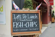 #fishandchips in #london - more here: http://twistedredladybug.blogspot.com/2014/01/keep-it-clean-for-queen.html