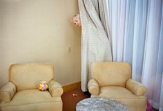 Bill Murray - Martin Schoeller - Portrait - Golf - Hotel room